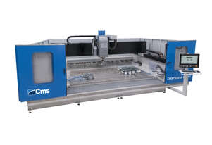 CMS Brembana SPEED RANGE of CNC Machining Centres For Complete Glass Processing