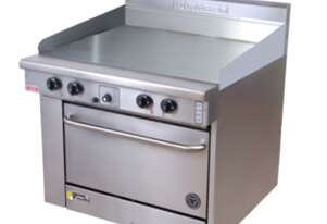 Goldstein PF48G28 - 1200mm Gas Griddle With Oven
