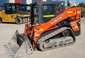 2019 KUBOTA SVL75-2 TRACK LOADER WITH LOW 748 HOURS AND FULL CIVIL SPEC