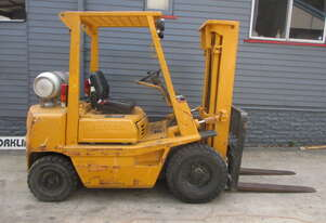 Toyota 2.5 ton Container Mast, Cheap Used Forklift #1581