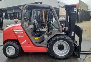 2013 Manitou 4wd forklift truck container mast suitable for basement work low hrs