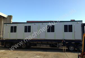 12m X 3m Four Room Accommodation Site