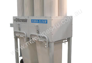 MICRONAIR EC8 pleated filters and auto cleaning