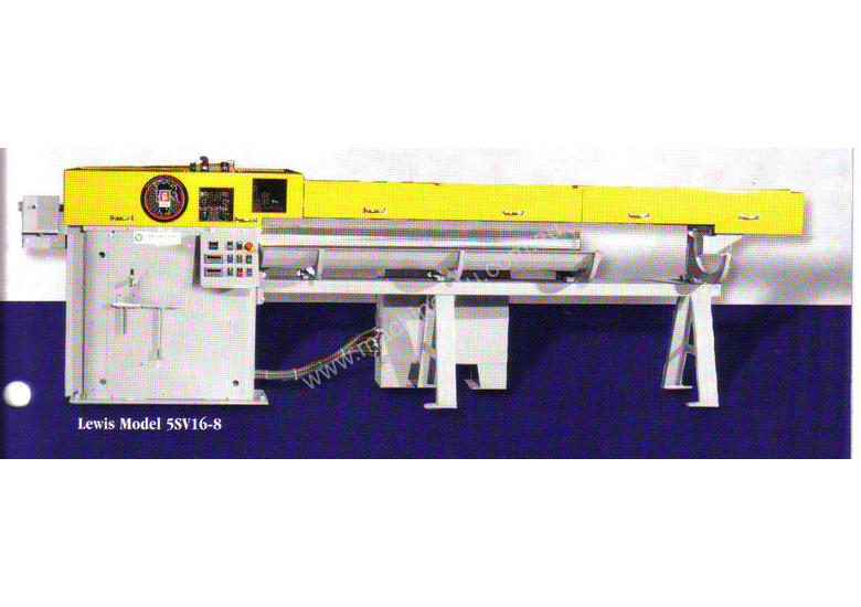 Lewis Straighten and Cut to Length Machine
