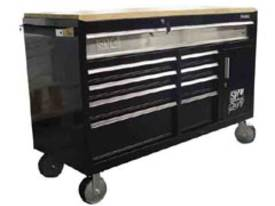 SP Workshop Roller Cabinet with Timber Worktop