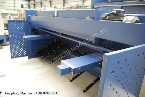 NEW Machtech ASB 6-3200 Hydraulic Swing Beam Shear