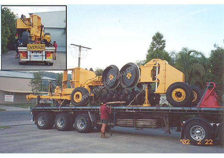 Savannah 510 Magnum 10 Disk One-Way Plow