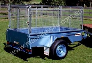 Single Axle Box Trailer Sheep Crate 1.8m 1.2m