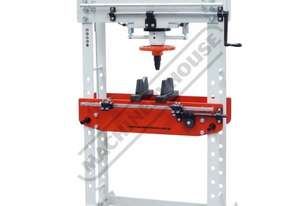 HDP-35 Trade Hydraulic Press - 35 Tonne S45C High Carbon Steel Frame Construction Includes 2 Speed P
