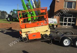 NEW JLG R6 SCISSOR LIFT/TRAILER PACKAGE