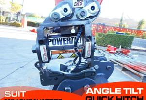 Hydraulic Power Tilting hitch Suits mini Excavator