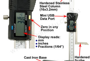 Mini Digital Height Gauge 0-150mm/6