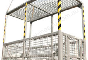 Crane Man Cages 6 Man with Roof (Perth)