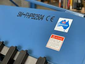 Heavy Duty Industrial Aussie Engineered & Designed 2500mm x 4mm Panbrake Folder - picture2' - Click to enlarge