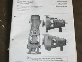 Mark 3 Stainless chemical process Pump - picture10' - Click to enlarge