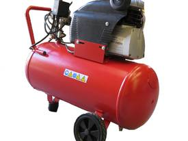 6cfm Electric Piston Air Compressor 2.5hp 240V, Direct Drive, 50L Tank - picture3' - Click to enlarge