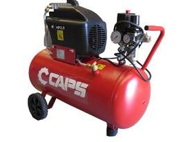 6cfm Electric Piston Air Compressor 2.5hp 240V, Direct Drive, 50L Tank - picture2' - Click to enlarge