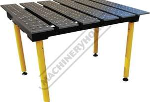 TMA61210 BuildPro Modular Welding Table - Standard Finish Reversible Table Plates 1160 x 1000 x 900m