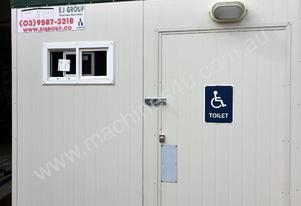 Compliant 3m X 2.4m Disabled Toilet/Shower