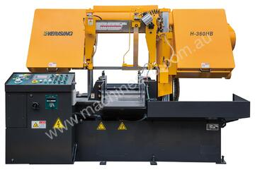 EVERISING H-360HB BAND SAW | FULLY AUTOMATIC | NC CONTROL | 360MM DIA CAPACITY