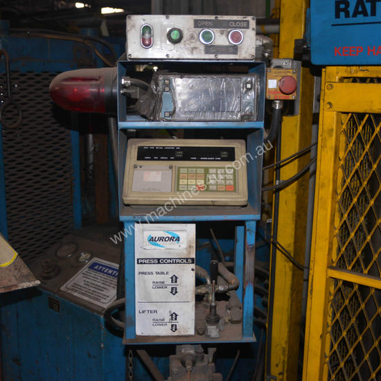 HYDRAULIC Test PRESS COIL SPRING RATE TESTING