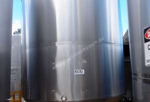 Stainless Steel Storage Tank - Capacity 10,000Lt.