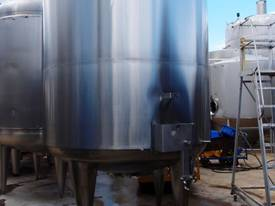Stainless Steel Storage Tank - Capacity 10,000Lt. - picture2' - Click to enlarge