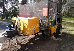 2015 new , 4.8ton atm cable drum recovery trailer