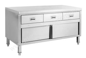 F.E.D. SKTD-1200 'KITCHEN TIDY' Cabinet Work Bench w/Doors & 3 Drawers