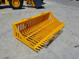 Tractor Rock Bucket, Sieve Bucket  - Euro Hitch - picture2' - Click to enlarge