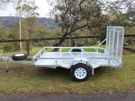 Delivery AU Mower Trailer 2900x1900 Ozzi w/ Ramps - picture0' - Click to enlarge