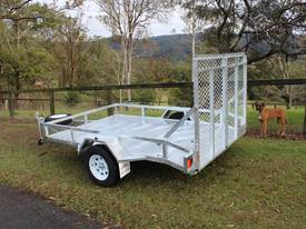 Delivery AU Mower Trailer 2900x1900 Ozzi w/ Ramps - picture1' - Click to enlarge