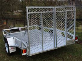 Delivery AU Mower Trailer 2900x1900 Ozzi w/ Ramps - picture2' - Click to enlarge
