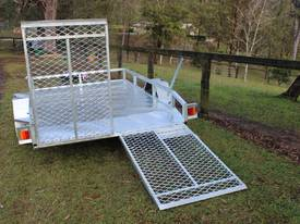 Delivery AU Mower Trailer 2900x1900 Ozzi w/ Ramps - picture12' - Click to enlarge