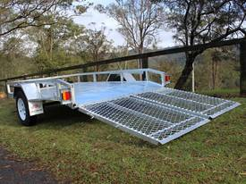 Delivery AU Mower Trailer 2900x1900 Ozzi w/ Ramps - picture14' - Click to enlarge