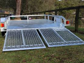 Delivery AU Mower Trailer 2900x1900 Ozzi w/ Ramps - picture15' - Click to enlarge