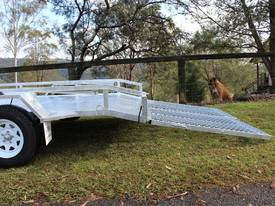 Delivery AU Mower Trailer 2900x1900 Ozzi w/ Ramps - picture16' - Click to enlarge