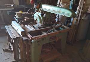 Overhead Radial arm Cross Cut saw with swing and t