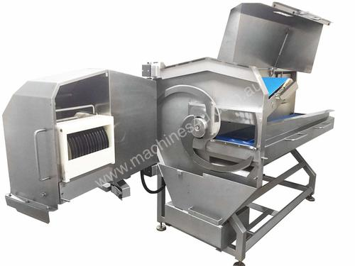 Meat Slicing and Cubing Machine