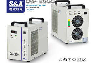 S & A CW-5202 REFRIGERATED INDUSTRIAL CHILLER  / INDUSTRIAL WATER CHILLER