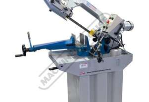 EB-260V Swivel Head Metal Cutting Band Saw Electronic Variable Blade Speed 20-90mpm, Mitre Cuts Up T