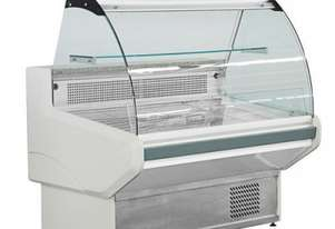 Bonvue Chilled Curved Glass Deli Display NSS1500