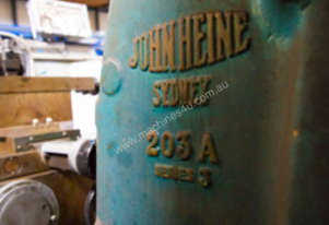 USED JOHN HEINE 203A SERIES 3 C FRAME PRESS