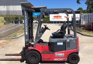 Nichiyu FBC18PN-70BC battery electric forklift