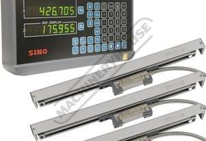 XH-3P 3-Axis Digital Readout Package Deal Includes 1 x DRO Counter, 3 x Scales & 1 x Bracket Kit Sui