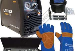 RAZOR CUT 45 Plasma Cutter Package Deal 16mm Steel Capacity #KUPJRRW45 Includes Gloves, Circle Cutti
