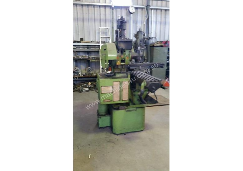 Nicolls air over hydraulic production mill for sale, no longer in use.