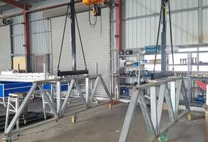 Crane Mobile Girder Rail (1 Tonne) plus Electric Chain Hoists