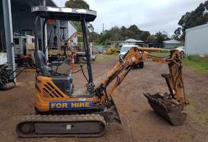 Case   CX14 mini excavator