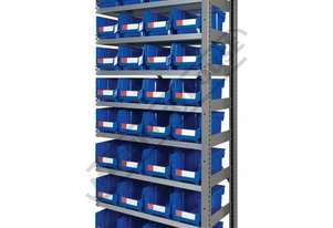 MSR-32E Industrial Modular Shelving Expansion Package Deal 898 x 465.4 x 2030mm Includes 32 x BK-210